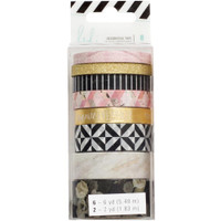 Heidi Swapp Magnolia Jane Washi Tape Rolls - Set of 8