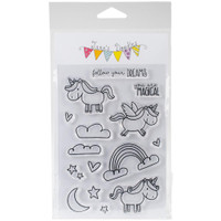 Jane's Doodles - Clear Stamps - Unicorn