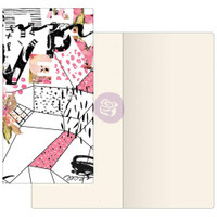 Prima Traveler's Journal - Notebook Refill - Mosaic (Ivory Paper)