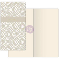 Prima Traveler's Journal - Notebook Refill - Dotted Circles (Ivory Paper)