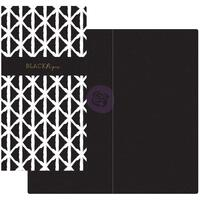Prima Traveler's Journal - Notebook Refill - Black Paper (Black & White)