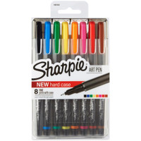 Sharpie Fine Point Art Pen - Set of 8