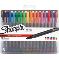 Sharpie Fine Point Art Pen - Set of 16