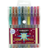 Sargent Art Glitter Gel Pen - Set 10