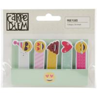 Carpe Diem - Simple Stories - Emoji Love Page Flags