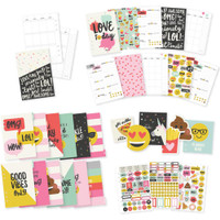 Carpe Diem - Simple Stories - Emoji Love A5 Planner Inserts