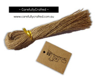 25 Kraft Gift Tag - Clothes Line #GT34
