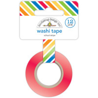 Doodlebug - Washi Tape - School Stripe