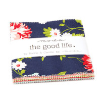 Moda Fabric Precuts Charm Pack - The Good Life by Bonnie & Camille
