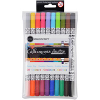 Manuscript Callicreative Duo Tip Twin Color Pens - Set of 10