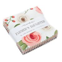 Moda Fabric Precuts Mini Charms - Farmers Daughter by Lella Boutique