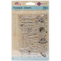 """Prima Marketing - Julie Nutting Planner Clear Stamps 4""""x 6""""- Make Kindness Happen"""