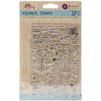 """Prima Marketing - Julie Nutting Planner Clear Stamps 4""""x 6""""- Holiday Bliss"""