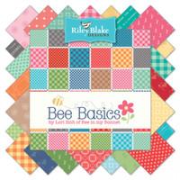 Riley Blake Fabric - Bee Basics by Lori Holt - Fat Quarter Bundle - Hand Cut