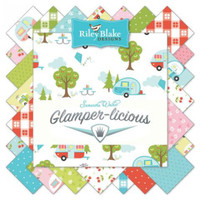 Riley Blake Fabric - Glamperlicous by Samantha Walker - Fat Quarter Bundle