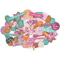 Kaisercraft - Bombay Sunset Collectables Cardstock Die-Cuts