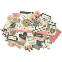 Kaisercraft - Keepsake Collectables Cardstock Die-Cuts