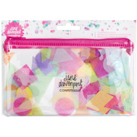 American Crafts - Jane Davenport Mixed Media Confettissue Die-Cuts - Cute Shapes