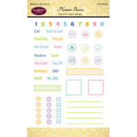 Justrite Papercraft - Clear Stamps - Planner Basics