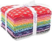 Free Spirit Fabric Precuts - True Colors by Tula Pink - Fat Quarter Bundle