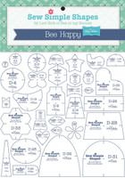 Riley Blake Designs - Lori Holt - Lori Holt Bee Happy - Template Set
