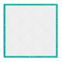 Riley Blake Designs - Lori Holt - 18 inch Design Board - Teal Happy Text