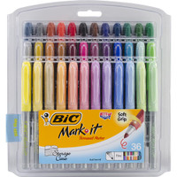 BIC Mark-It Fine Point Permanent Markers  - Set of 36