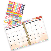 "OUTDATED - Paper House - Spiral Bound Planner 7.5"" X 8.5"" - Make Everyday Great (Vertical)"