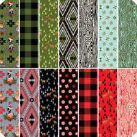 "Free Spirit Fabric Precuts - Holiday Homies by Tula Pink - 10"" Stacker"