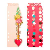 Prima Marketing - My Prima Planner Plastic Bookmark Divider - Bee Happy - Set of 2
