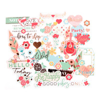 My Prima Planner - Ephemera Cardstock Die-Cuts - Bee Happy
