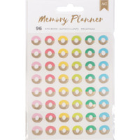 American Crafts - Memory Planner Hole Reinforcer Stickers