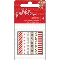 Washi Tape - Pebbles - Merry Merry - Christmas