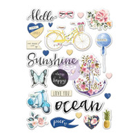 My Prima Planner - Puffy Stickers - St. Tropez