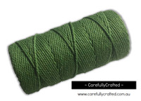 Baker's Twine 12 Ply - 100 Metre (110 Yards) Spool - Solid Green #BT12-5