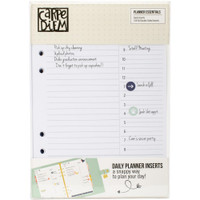 Carpe Diem - Planner Essentials Double-Sided Inserts A5 - Daily - 156 Pack