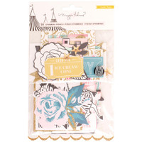 Crate Paper - Maggie Holmes - Carousel Ephemera Die-Cuts