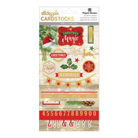 Paper House Christmas Joy Stickypix Cardstock Stickers - Christmas Magic