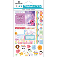 "Paper House Life Organized Planner Stickers 4.5"" x 7.5""- Kawaii Fun"