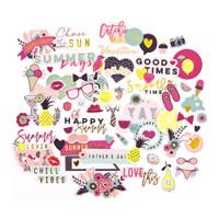 My Prima Planner Ephemera Cardstock Die-Cuts - Good Vibes