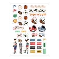 Julie Nutting Planner Stickers - Sport