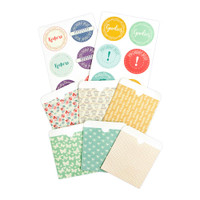 Julie Nutting Planner Inserts - Pockets & Labels