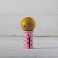 Doohikey Designs - Binding Babies Medium - Pink with Hot Pink Dots