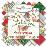 Penny Rose Fabrics - Anne of Green Gables Christmas Collection - Fat Quarter Bundle
