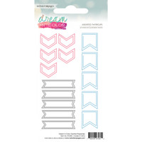 Webster Pages - Dream in Color - Assorted Paperclips - Set of 15