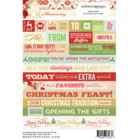 Webster Pages - A Christmas Story - Word Stickers