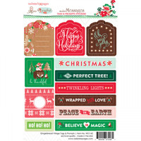 Webster Pages - Gingerbread Village - Tag & Prompt Stickers