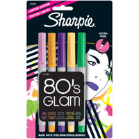 Sharpie Ultra Fine Point Permanent Markers - 80's Glam