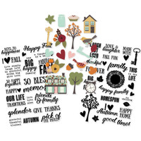 "Simple Stories - Vintage Blessings Clear Stickers 4""x 6"""