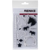 Alexandra Renke - Unicorn Stamps